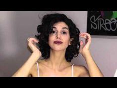 Corte para cabelo ondulado/cacheado - YouTube