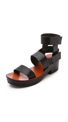 Chie Mihara Shoes Oyuyu Flatform Sandals
