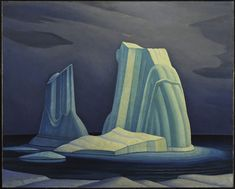 Lawren P. Harris Canadian Icebergs, Davis Strait, 1930 Oil on canvas x Gift of Mr. Lent by: McMichael Canadian Art Collection, Kleinburg to Smallwood Smallwood Kerfoot Art Gallery for 100 Masters: Only in Canada, May 11 - Aug Tom Thomson, Emily Carr, Canadian Painters, Canadian Artists, Harlem Renaissance, Abstract Landscape, Landscape Paintings, Landscapes, Group Of Seven Artists
