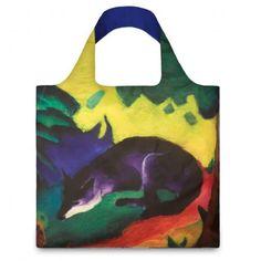 "Tote Bag : FRANZ MARC ""Blue Fox 1911"""