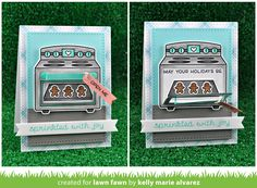 Hello and welcome to Lawn Fawn's September 2016 Inspiration Week! We are  just so excited about this week! We are featuring 4  stamp ...