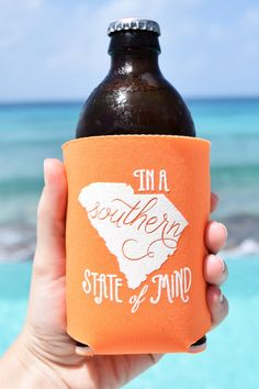 South Carolina Southern State of Mind Koozie by ThePinkHousePress,  5.00  South Carolina Homes, University 175632b9b2