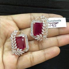 Swipe for more DM for price and orders with code number 😊 Jewelry Design Earrings, Gold Earrings Designs, Diamond Jewelry, Diamond Earrings Indian, Silver Jewelry, Platinum Earrings, Dainty Earrings, Jewelry Stand, Simple Earrings