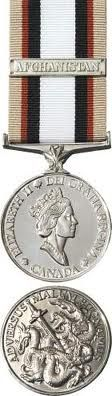 Canadian military decorations and medals south west Asia medal (SWASM) - from Op Apollo 2002