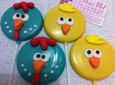 docinhos decorados da galinha pintadinha - Pesquisa Google