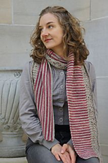Constitution Hall Scarf - knit by Tanis Gray