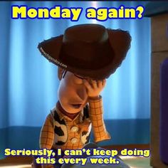 Anyone else feeling a bit like Woody this morning? #ToyStory #Disney