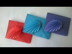 Como hacer un sobre de papel sin pegamento ni tijeras || Sobre de origami - YouTube