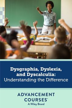 Understanding learning disabilities will help you better navigate problem areas for students. Discover the differences between dysgraphia, dyslexia, and dyscalculia so you can create a positive classroom experience. Dysgraphia Symptoms, Dyscalculia, Inclusion Classroom, Special Education Classroom, Mind Institute, Effective Teaching, Parent Communication, Class Notes, Writing Words