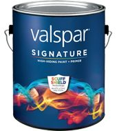 Valspar Signature Brushed Pearl Finish Paint:Available Colors