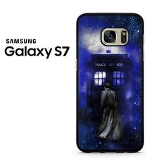 Bluetardis Tenth Doctor Dr Who In Space Samsung Galaxy S7 Case