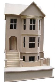 Bay View House Dolls House Kit (1:12 scale)
