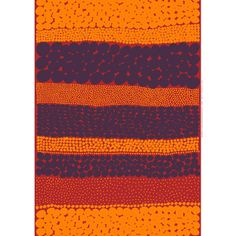Marimekko Red/Orange/Violet Jurmo Fabric Aino-Maija Metsola's new for 2012 Jurmo print goes bold in the impressive color combination of red, orange and violet. With polka dots arranged in a linear pattern, this striking print makes a great wa. Marimekko Fabric, Linear Pattern, Crazy Outfits, Modern Fabric, Picnic Blanket, Cotton Fabric, Polka Dots, Textiles, Colours