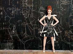 Gallery: Four Artists Use Jessica Chastain As A Human Canvas To Stunning Effect In W Magazine