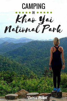 Camping in Khao Yai National Park   I spent the weekend exploring Thailand's oldest national park - Khao Yai. This sprawling park is almost three times the size of Singapore and home to a herd of 200 wild elephants! Read about what it's like to go hiking and camp in this beautiful part of Thailand or pin it and save it for later.   Travel in Thailand   Adventure Travel   Hiking
