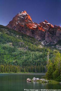 Taggart Lake, Grand Teton National Park, Wyoming