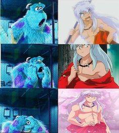 Tu reacción al ver estas imágenes de inuyasha