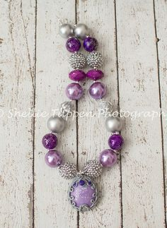 Sofia the First Amulet Chunky Necklace by AdisynKlaire on Etsy, $24.99