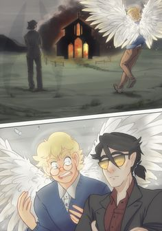 203 Best Aziraphale & Crowley images in 2019 | Good omens book