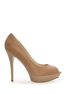 Peep-toe platform shoes - Shoes for Women | MANGO