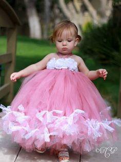 Reserved Listing For Rajasekar Flower Girl Tutu Dress Rose Petal ...