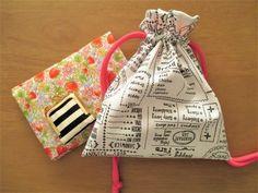 簡単!かわいい!!裏地付き巾着袋の作り方の作り方|フェルト|編み物・手芸・ソーイング|ハンドメイド | アトリエ