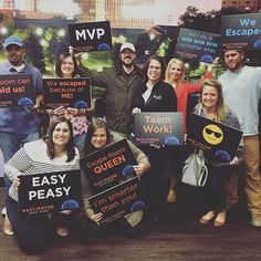 The Ivey Sales Team took on the Mastermind Escape Room tonight! The escaped in 33 minutes! #iveyhomes #teamspirit #mastermind #escaperoom
