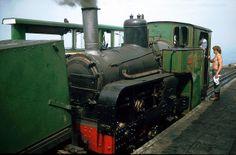 "No.8 ""Eryri"" with water tank wagon at the Summit   Flickr - Photo Sharing!"