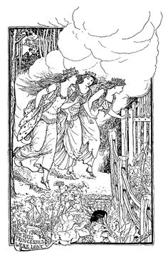 The grey fairy book' edited by Andrew Lang; with numerous illustrations by H.J. Ford. Published 1905 by Longmanns, Green & Co