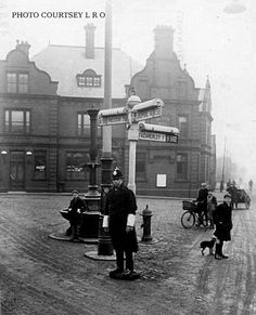 old liverpool | Flickr - Photo Sharing!.... This is The Black Bull pub T the junction of the roads fromWalton Vale ..... Aintree to the left and Fazakerly to the right...... Evie