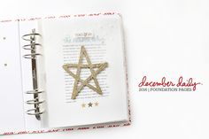 Ali Edwards | Blog: December Daily® 2016 | Foundation Pages + Video