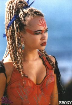 Ebony, from The Tribe