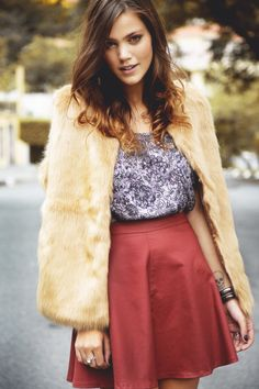 A atriz Pamela Tomé de #lookErreErre. #meulookerreerre #pamelatome
