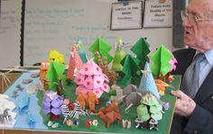 Origami in Grade School Life, Grade 2, Art Music, Origami, Mindfulness, Inspired, Inspiration, High School Life, Biblical Inspiration