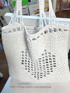 Love Crochet, Crochet Top, Crochet Handbags, Crochet Bags, Knitting, Clean Pots, Crafts, Women, Projects