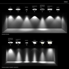 architectural lighting design Other ies erco lighting Architectural Lighting Design, Modern Lighting Design, Lighting Concepts, Interior Lighting, Modern Design, Stage Lighting, Home Lighting, Kitchen Lighting, Living Room Recessed Lighting