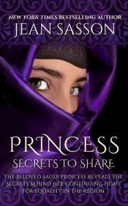 """Princess: Secrets to Share"" by Jean Sasson --Yippee!  A FIFTH book to be released later this fall.  Now I really have to get my hands on the fourth one..."
