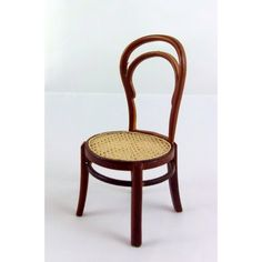 Dolls House Fine 1:12 Miniature Furniture Thonet Bentwood Bistro Chair 1859