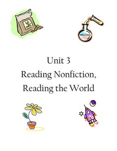 In this unit, students briefly review the components of nonfiction and then dive into how exploring the content of this genre expands the world for second graders. See more at teacherspayteachers.com