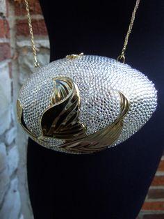 Jewel Encrusted Egg Shape Evening Bag by worldmarketproductio, $85.00
