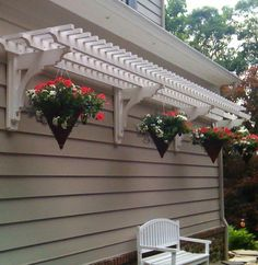 The wooden pergola is a good solution to add beauty to your garden. If you are not ready to spend thousands of dollars for building a cozy pergola then you may devise new strategies of trying out something different so that you can re Outdoor Spaces, Outdoor Living, Outdoor Decor, Outdoor Projects, Garden Projects, Backyard Patio, Backyard Landscaping, Landscaping Ideas, Backyard Designs