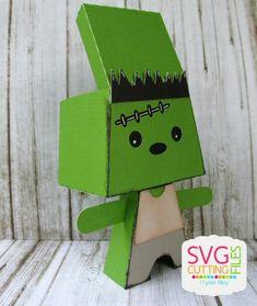 Frankenstein Standing Monster Box graydon