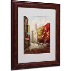 Trademark Fine Art Sunday Morning in Bari Italy Canvas Art by Rio, Wood Frame, Size: 16 x 20, Multicolor