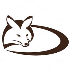 Vector image of an fox  by yod67 on @creativework247
