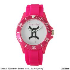 Gemini Sign of the Zodiac.  Ladies Watches. Watches