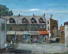 Une ville de la Pennsylvanie de Walter Emerson Baum (1884-1956, United States)