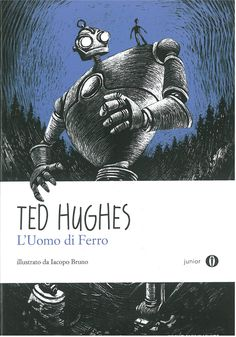 Italian language copies of Ted Hughes's 'The Iron Man' as received from Oscar Mondadori