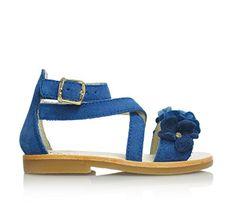 TWIN-SET - Blaue Sandale , Mädchen, Kind - http://on-line-kaufen.de/twin-set/twin-set-blaue-sandale-maedchen-kind