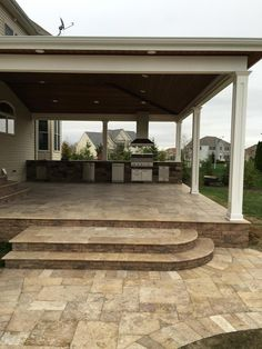"Check out our website for more info on ""outdoor kitchen designs layout patio"". I… Check out our website for more info on ""outdoor kitchen designs layout patio"". It is a great area to read more. Pergola Patio, Backyard Patio, Pergola Kits, Pergola Ideas, Backyard Covered Patios, Backyard Ideas, Gazebo, Covered Patio Design, Covered Patio Kitchen Ideas"