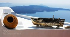 Popular on 500px : Santorini Greece by bobviv